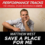 Save A Place For Me (Performance Tracks) (EP)