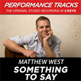 Something To Say (Performance Tracks) (EP)